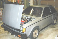 1984 Dodge Colt picture, engine, exterior
