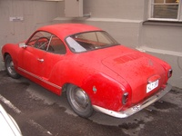 1958 Volkswagen Karmann Ghia Overview
