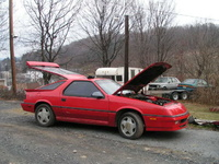 1988 Dodge Daytona picture, exterior, engine