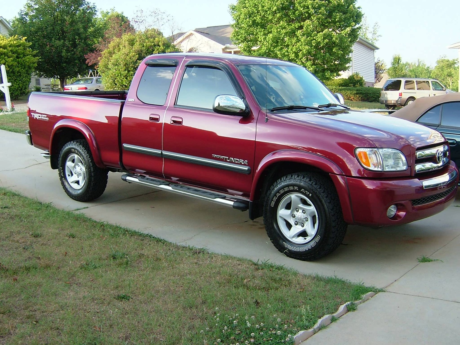 Picture of 2004 toyota tundra 4 dr sr5 v8 extended cab sb exterior