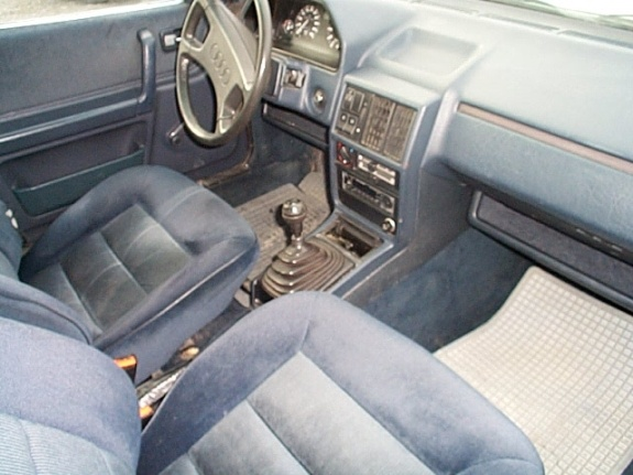 Picture of 1988 Audi 100, interior