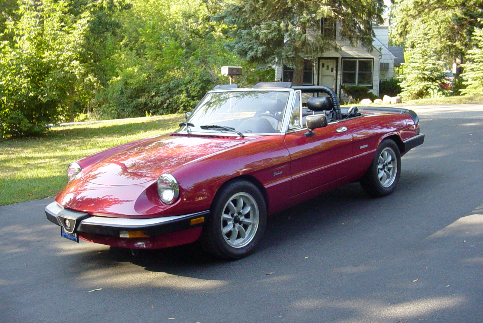 1990 alfa romeo spider veloce for sale 4