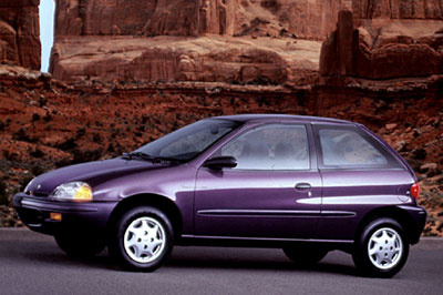 Picture of 1996 Geo Metro 2 Dr LSi Hatchback