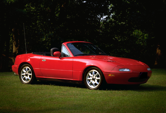 1990 Mazda MX-5 Miata 2 Dr STD Convertible picture