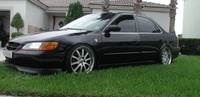 1998 Honda Accord EX V6, Picture of 1998 Honda Accord 4 Dr EX V6 Sedan, exterior