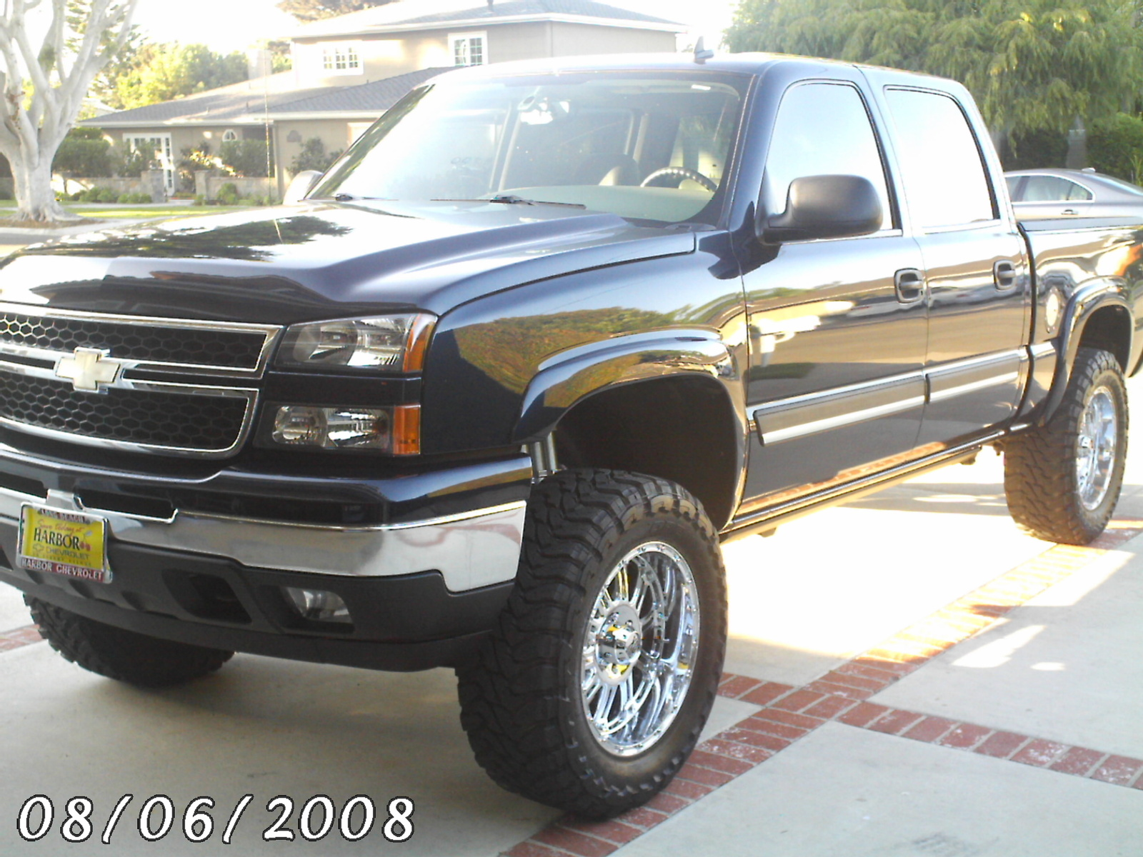 picture of 2006 chevrolet silverado 1500 lt3 crew cab 4wd exterior. Cars Review. Best American Auto & Cars Review