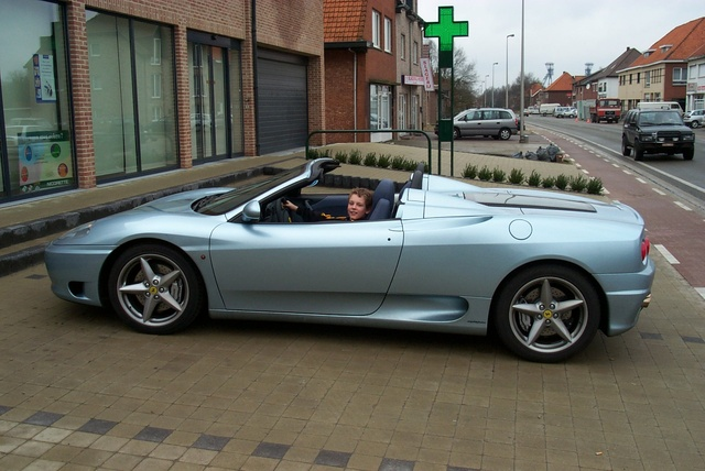 Picture of 2001 Ferrari 360 Spider Spider Convertible, exterior, gallery_worthy