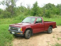 1991 Chevrolet S-10 STD Standard Cab SB, before the accident