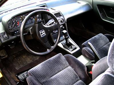 1991 Honda Prelude 2 Dr 2.0 Si Coupe picture, interior