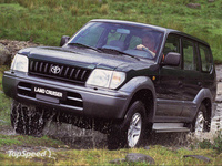 1993 Toyota Land Cruiser Prado Overview