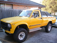 1982 Toyota Hilux Overview