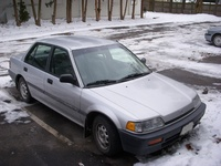 1988 Honda Civic, Picture of 1998 Honda Civic 4 Dr DX Sedan, exterior