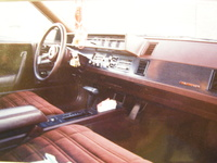 1985 Chevrolet Celebrity picture, interior