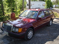Picture of 1990 Mercedes-Benz 300-Class 4 Dr 300TE Wagon, exterior