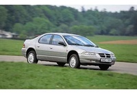 1997 Dodge Stratus, 1996 Chrysler Cirrus 4 Dr LX Sedan picture, exterior