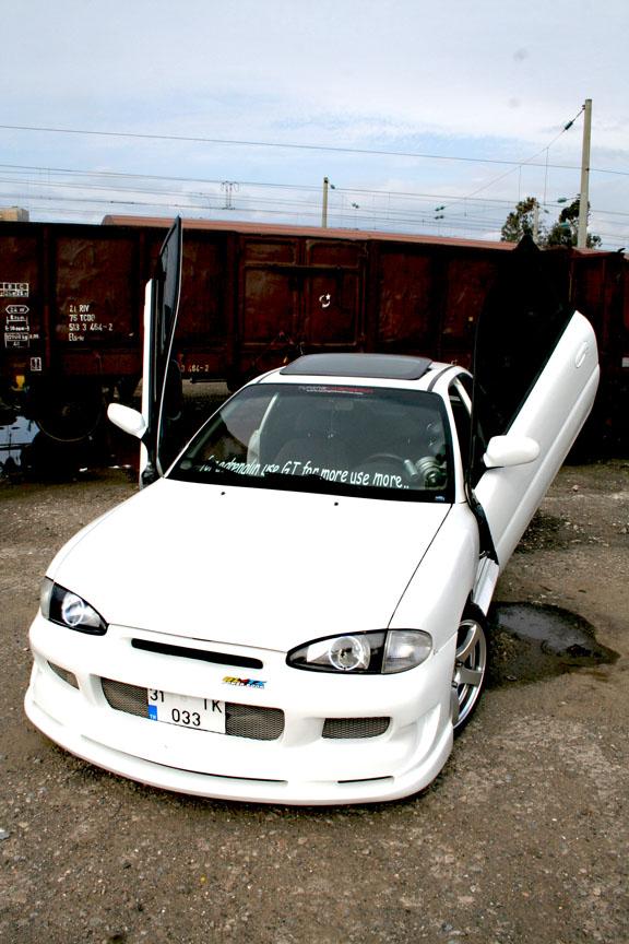1997 Hyundai Accent Hatchback