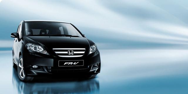 2009 Honda FR-V, Front Right Quarter View, exterior, manufacturer