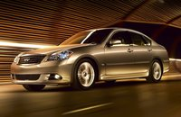 2009 INFINITI M35, Front Left Quarter View, exterior, manufacturer, gallery_worthy