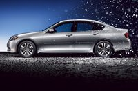2009 INFINITI M35, Left Side View, exterior, manufacturer, gallery_worthy