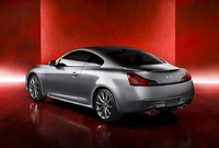 2009 Infiniti G37, Back Left Quarter View, manufacturer, exterior