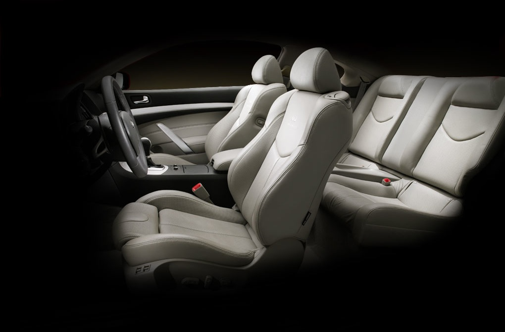 Infiniti G37 Coupe Interior. 2009 Infiniti G37, Interior