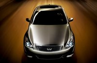 2009 Infiniti G37, Overhead Front View, exterior, manufacturer