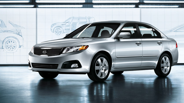 2009 Kia Optima, Front Left Quarter View, exterior, manufacturer