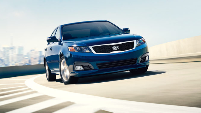 2009 Kia Optima, Front Right Quarter View, manufacturer, exterior