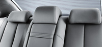 2009 Kia Optima, Interior Backseat View, manufacturer, interior