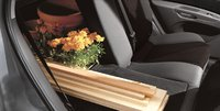 2009 Kia Rio, Interior Backseat View, interior, manufacturer