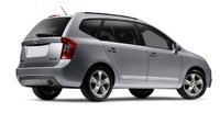 2009 Kia Rondo, Back Right Quarter View, manufacturer, exterior