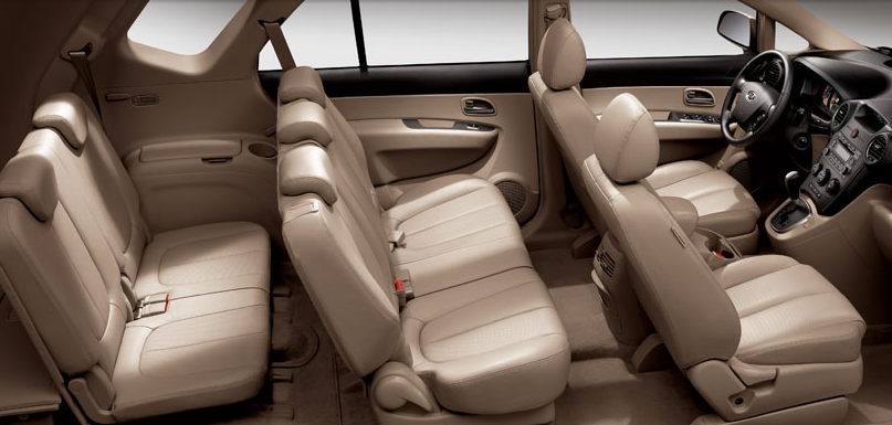 2009 Kia Rondo, Interior View, manufacturer, interior