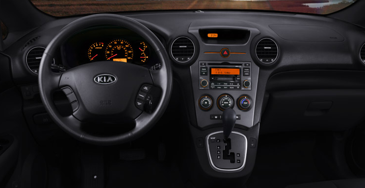 2009 Kia Rondo, Interior Dash View, manufacturer, interior