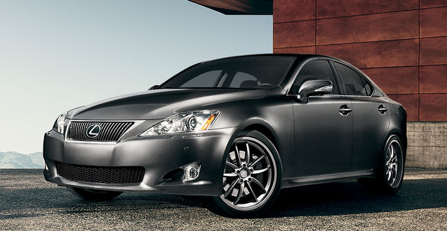 2009 Lexus IS 250, Front Left Quarter View, exterior, manufacturer