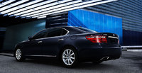 2009 Lexus LS 460, Back Left Quarter View, exterior, manufacturer