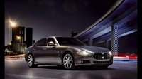 2009 Maserati Quattroporte, Front Right Quarter View, exterior, manufacturer