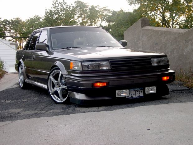 2nd gen nissan maxima 1984 88 is there a mod scene out there. Black Bedroom Furniture Sets. Home Design Ideas