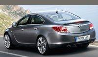 2009 Opel Insignia, Back Left Quarter View, exterior, manufacturer