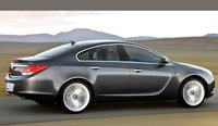 2009 Opel Insignia, Right Side View, exterior, manufacturer