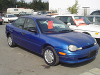 Picture of 1995 Dodge Neon 4 Dr STD Sedan, exterior, gallery_worthy