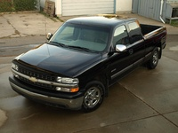 Picture of 2000 Chevrolet Silverado 1500 Ext Cab Short Bed 2WD, exterior