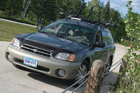 Picture of 2000 Subaru Outback Base Wagon, exterior, gallery_worthy
