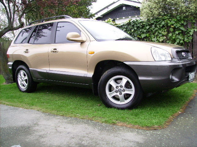 Picture of 2001 Hyundai Santa Fe 2.7L GLS AWD, exterior, gallery_worthy