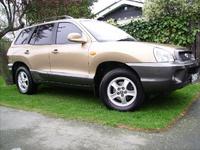 2001 Hyundai Santa Fe Picture Gallery