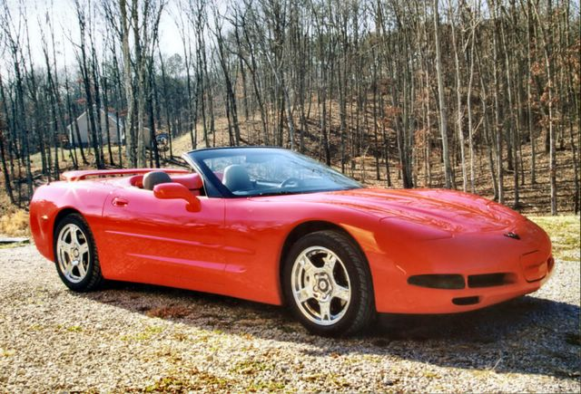 1998 Chevrolet Corvette Convertible, 1998 Chevrolet Corvette 2 Dr STD Convertible picture, exterior