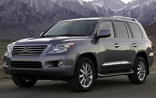 2009 Lexus LX 570 Base picture, exterior