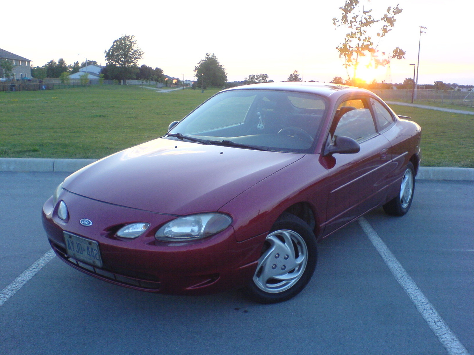 2000 Ford Escort Zx2 Coupe