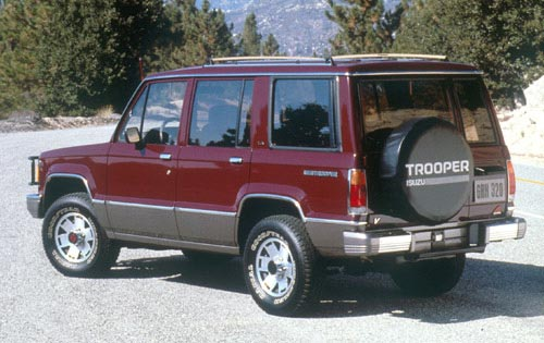 1991 Isuzu Trooper 4 Dr S 4WD SUV picture, exterior