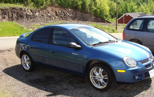 Dodge Neon Dr Sxt Sedan Pic X