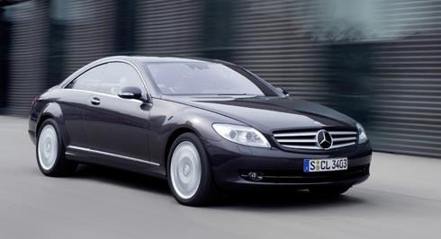 Picture of 2009 Mercedes-Benz CL-Class CL 550 4MATIC, exterior, gallery_worthy